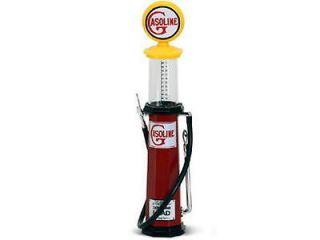 Vintage Cylinder Gasoline Gas Pump ROAD SIGNATURE Diecast 118 Scale