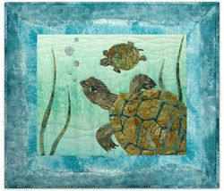 McKenna Ryan Quilt Pattern Something Fishy Turtle Sunday Pine Needles