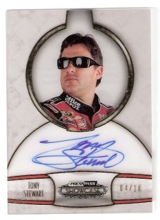 2011 Showcase Champions Ink Gold Tony Stewart Autograph 04 10
