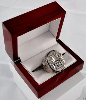 SALE 2011 NEW YORK GIANTS SUPER BOWL CHAMPIONSHIP RING 18K WHITE GOLD