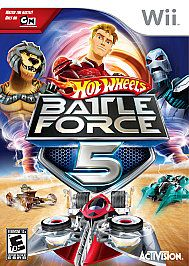 Hot Wheels Battle Force 5 Nintendo DS, 2009