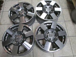 Nissan Xterra Frontier Pro 4X Factory Charcole Wheels Rims 2013