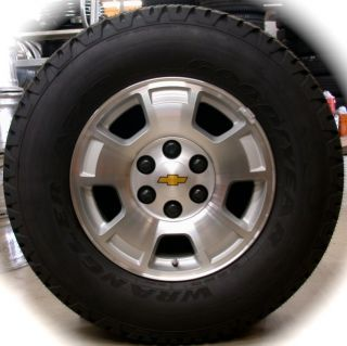 2013 Chevy Silverado Tahoe Suburban Avalanche OEM 17 Wheels Rims Tires