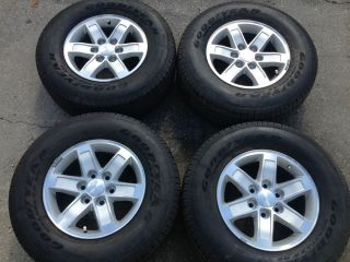 2013 GMC Chevy 1500 17 Wheels Rims and Tires Set of 4 Wheels and Tires