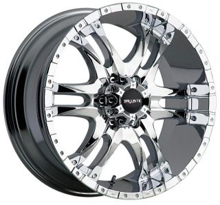 BALLISTIC OFF ROAD WIZARD CHROME F150 NAVIGATOR EXPEDITION WHEELS RIMS
