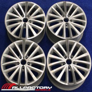 VW Jetta 17 2011 2012 11 12 Factory Rims Wheels Set Four 69910