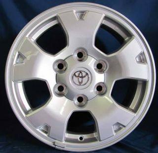 16 2011 Toyota Tacoma OE Silver Wheels 16x7 Rims