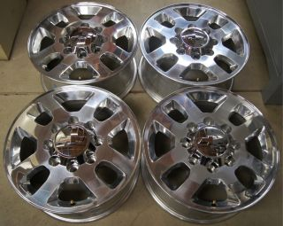 2011 12 Chevy Silverado HD 2500 3500 8 Lug 18 OEM Factory Wheels Rims