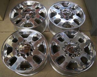 2011 12 Chevy Silverado HD 2500 3500 8 Lug 18 OEM Factory Wheels Rims