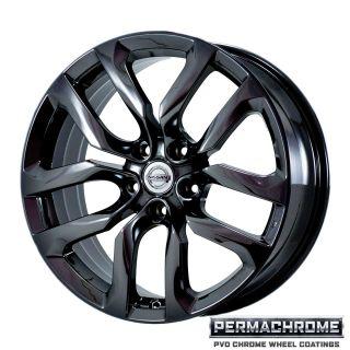 Nissan 370Z 2010 2011 Black Chrome Wheels Exchange