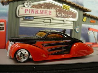 New 2010 Hot Wheels Custom Car Show Swoop Coupe★black★