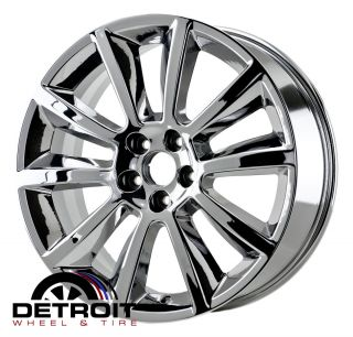 FORD FLEX 2009 2011 PVD Bright Chrome Wheels Rims Factory 3771