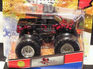 Hot Wheels 2012 Northern Nightmare w Topps Card Monster Jam Truck
