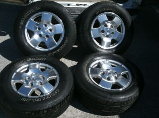 Toyota Tundra 18 inch Wheels Tires 2007 2008 2009 2010 2011 2012