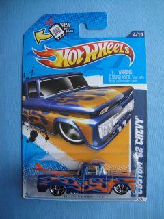 2012 Hot Wheels Custom 62 Chevy Pick Up Truck