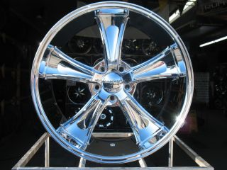 CHROME AMERICAN RACING VN805 BLVD WHEELS RIMS 2010 12 CAMARO SS RS