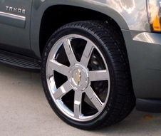 2010 Chevy Tahoe 24 Wheels Rims Chrome Finish 2009 2011 Lt LTZ