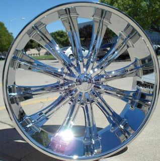 Wheels Rims Chrome BW15 6x135 30 Ford F150 2004 2005 2006 2007