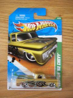 2011 Hot Wheels Treasure Hunt 62 Custom Chevy Pick Up