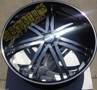 Wheels Rims Black BW14 6x135 30 Ford F150 2004 2005 2006 2007
