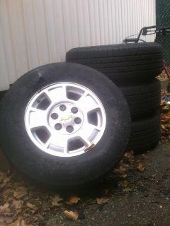 2007 2012 Chevy Silverado Tahoe Suburban Avalanche OEM 17 Wheels Rims