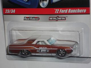Hot Wheels 2010 Slick Rides Delivery Series 72 Ford Ranchero Copper