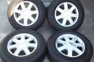 2007 2012 18 Cadillac Escalade Chevy Tahoe Yukon Factory Wheels Tires