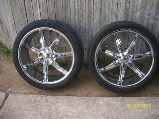 24 Tires Wheels 2007 Chevy Tahoe