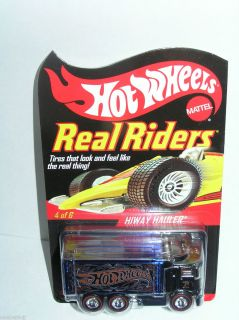 2007 Hot Wheels RLC Series Real Riders Highway Hauler