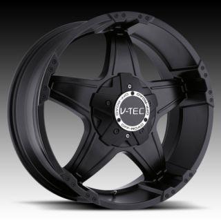 17 vtec 395 Black Wheels Rims Toyota FJ Cruiser