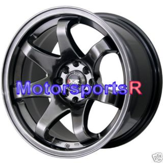 522 Chromium Black Concave Rims Wheels stance Datsun 240z 280z 280zx