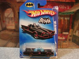 Hot Wheels 133 2009 Faster Than Ever 66 Batmobile 1 64 Die Cast 7 10
