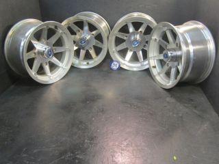 2008 Polaris Ranger RZR 800 Set Aluminum Rims Wheels 8 Spoke Stock UTV
