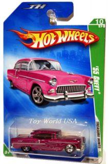 2009 Hot Wheels Treasure Hunt 52 55 Chevy