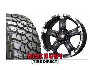 2007 2012 Wrangler 17 Package BFG Mud Terrain Tires Black Wheels