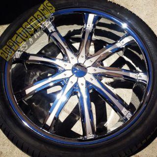 26 inch Wheels Rims Tires Silver DW29 Crown Victoria 90 91 92 93 94