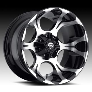 20x12 Dune XD 20 inch Chevy Ford Gloss Black Wheels Rims Set