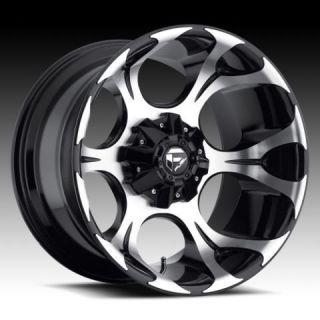 20x12 Dune XD 20 inch Chevy Ford Gloss Black Wheels Rims Set