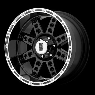 Gloss Black 20 x 10 8x6 5 Silverado Suburban F350 Wheels Rims