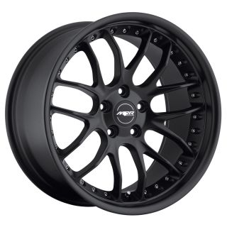 GT7 Matte Black Wheels Rims Fit Mercedes C Class W203 2000 2007