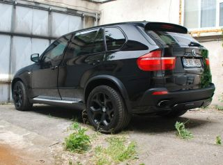 BMW E53 E70 x5 x6 3 0 4 5 4 8 M Style Rims x Drive Black Finish