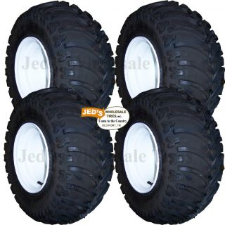 lifted off road GOLF CART TIREs RIMs WHEELs for EZGO Club Car Yamaha