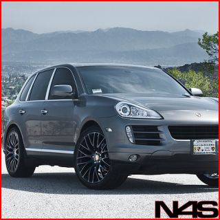 Porsche Cayenne s Turbo MRR HR6 Matte Black Concave Wheels Rims