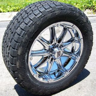 20 XD Badlands Wheels 33 Nitto Terra Grappler Tires Dodge Chevy 2500