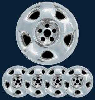 07 08 09 10 11 Honda CR V Chrome Wheel Skins for 17 Steel Rims Part