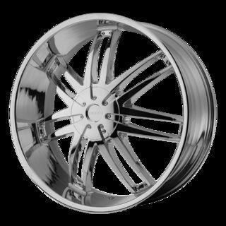 22 Wheels Rims Helo 868 Chrome Blazer S10 Range Rover