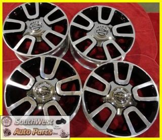 11 FORD F150 22 POLISHED BLACK CHERRY TAKE OFF WHEELS OEM FACTORY RIMS
