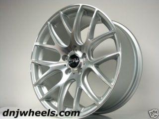 Audi A3 A4 VW Jetta Golf GTI CC Silver Black Mesh Custom Wheels