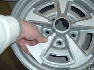 "Pontiac Rally II Wheel Paint Stencil Kit for 14"" Rim"