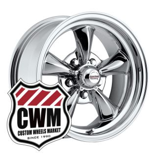15x6 Chrome Wheels Rims 5x4 50 Lug Pattern for Ford Mustang 1965